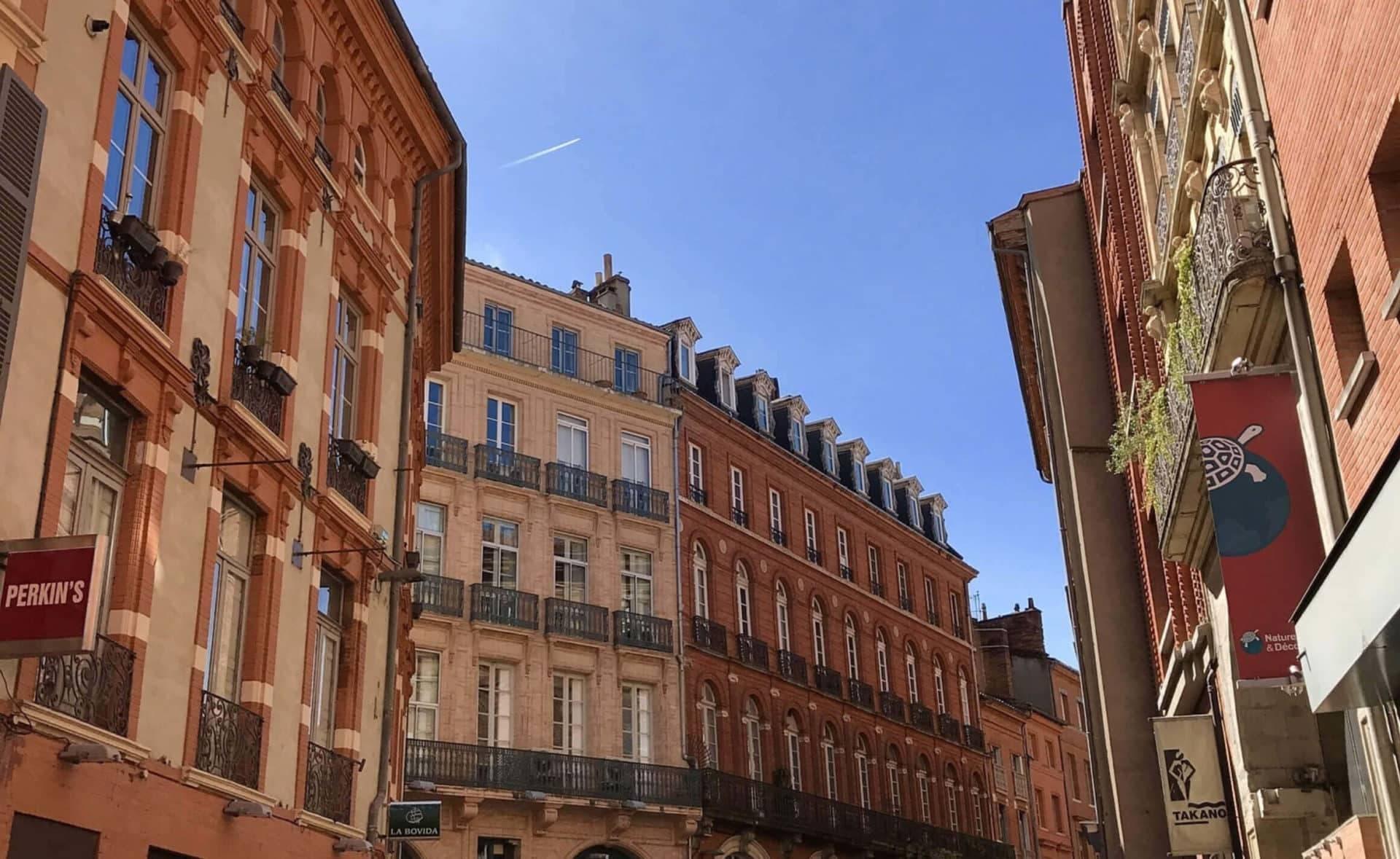 Appartements vus depuis la rue